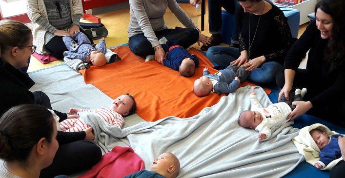 Sensibilisation au Portage et au Massage des bébés