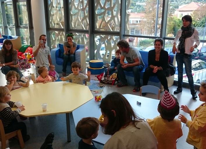 Participants aux activités des Espaces Enfants-Parents