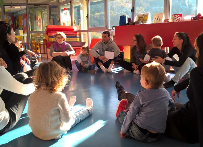 Rencontres : enfants - parents - accueillant(e)s