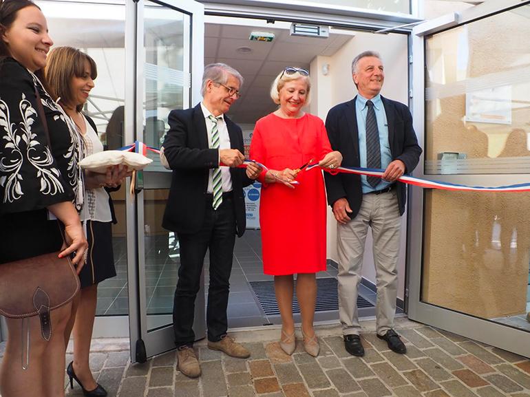 Inauguration Point Relais Particulier Emploi (La Trinité)