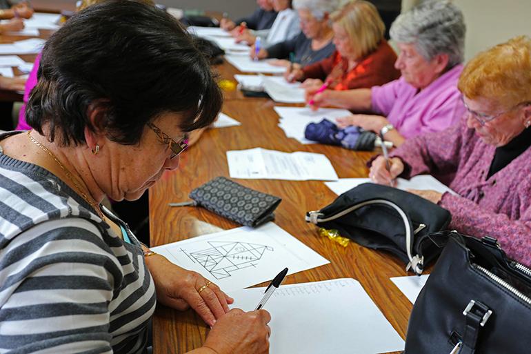 Ateliers Mémoire : des participants