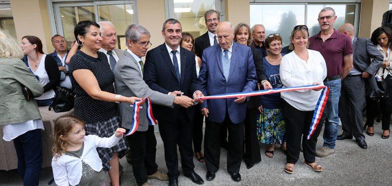 Espace Social et formation de Saint-Martin du Var : Inauguration