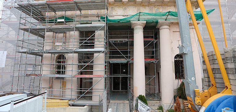Église de La Trinité : la restauration touche à sa fin