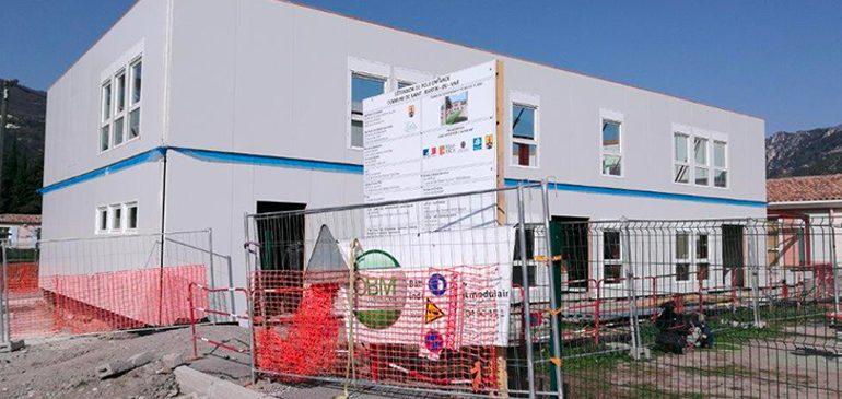 Saint-Martin-du-Var : une école maternelle plus grande !