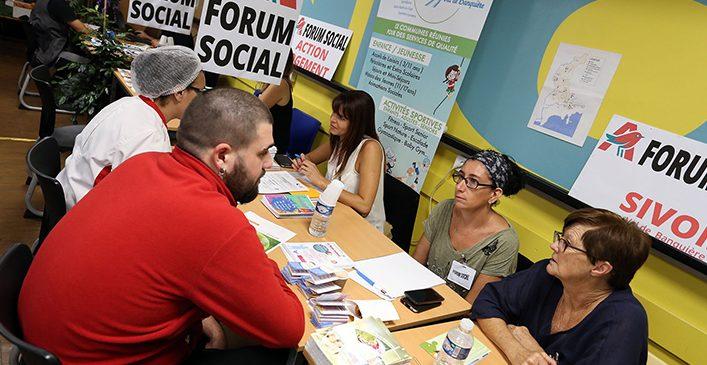Le SIVoM partenaire du Forum Social de Auchan