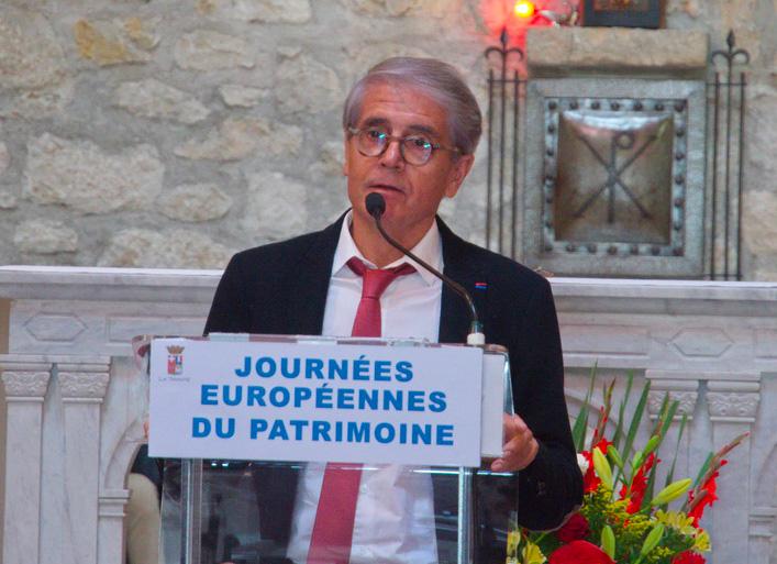 Discours du Président du SIVoM lors d'une des inaugurations