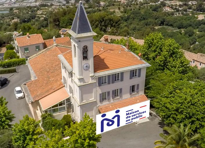 Photo montage de la Maison des Services Au Public de Colomars