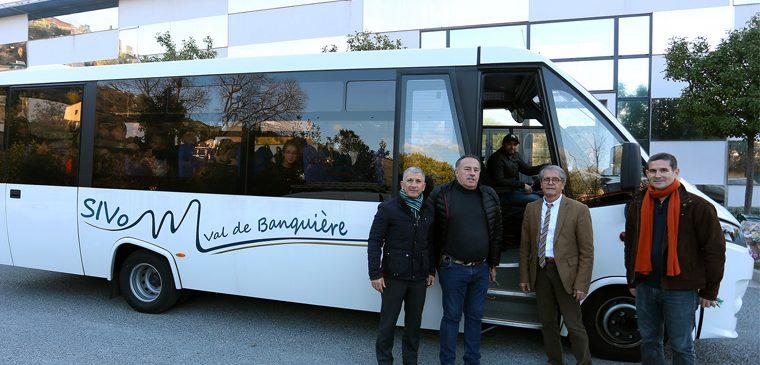 Le SIVoM Val de Banquière se dote d'un bus flambant neuf !