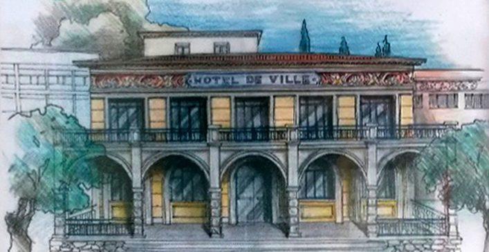 L'Hôtel de Ville de Tourrette-Levens retrouve des couleurs