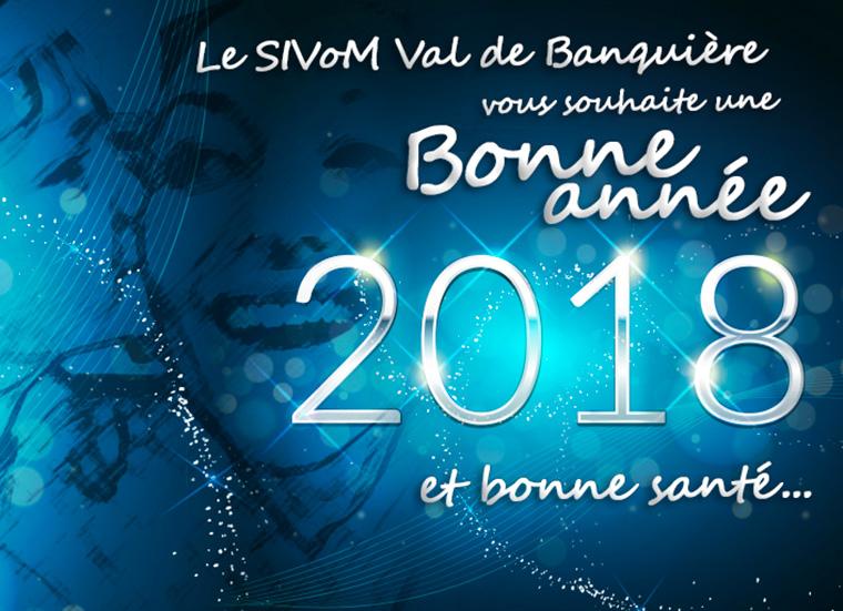Vœux 2018 du SIVoM Val de Banquière