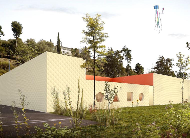 Micro-crèche d'Aspremont : les travaux débutent en septembre