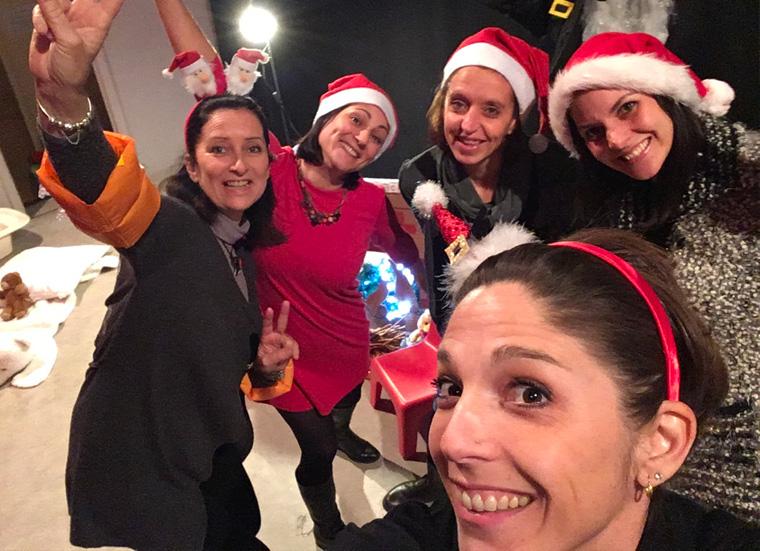 Noël du RAM : le personnel du RAM