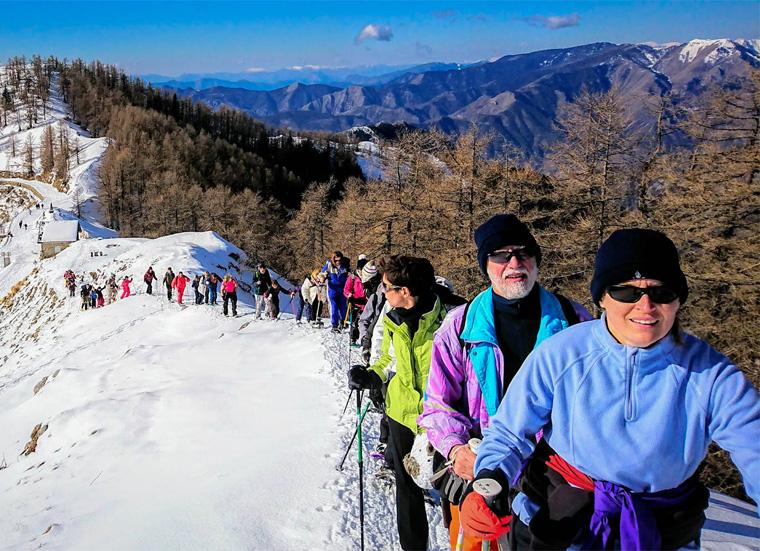 Sport & Nature en famille : sortie raquette à neige (randonnée)