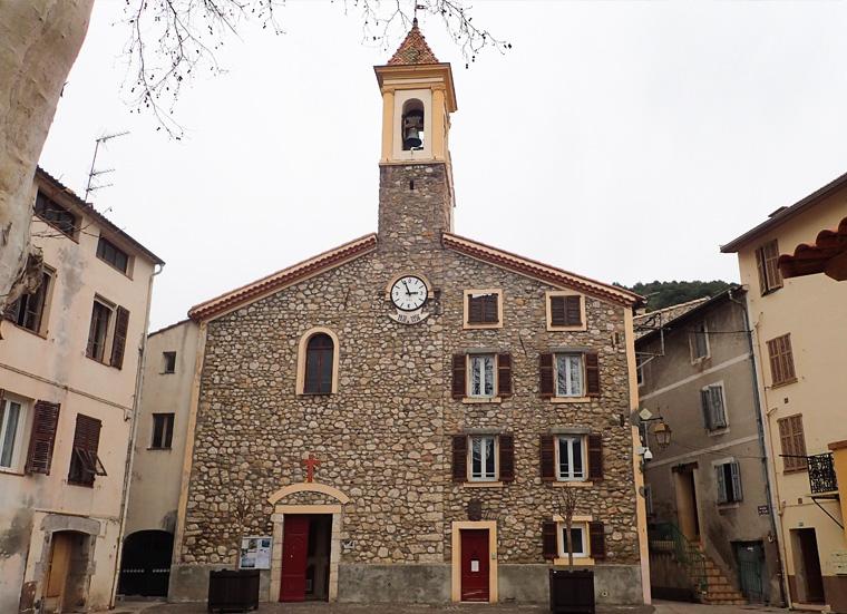 Budget 2018 : réhabilitation de l'église de Saint-Martin du Var