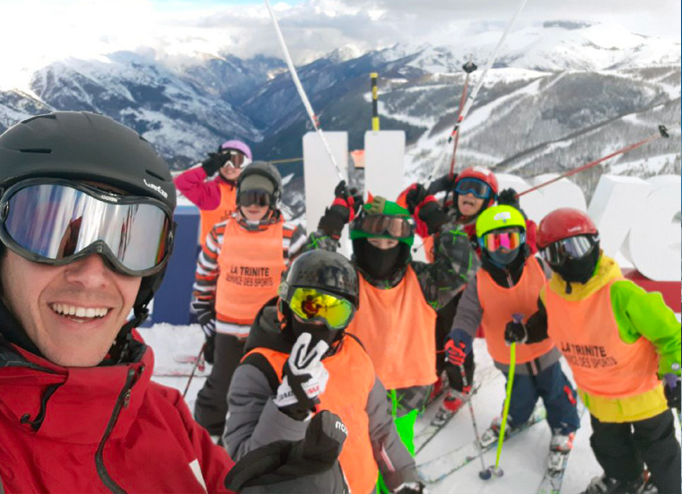 Séjours au ski 2018 : les enfants à Auron