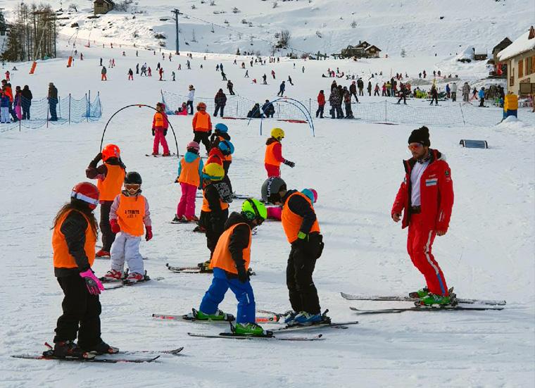 Séjours au ski: enfants à Auron