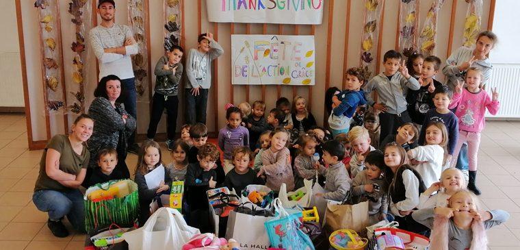 Une collecte de jouets réussie à Falicon