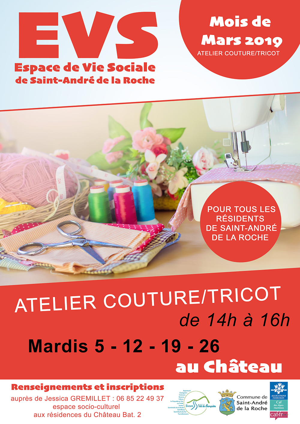 EVS : Couture/Tricot