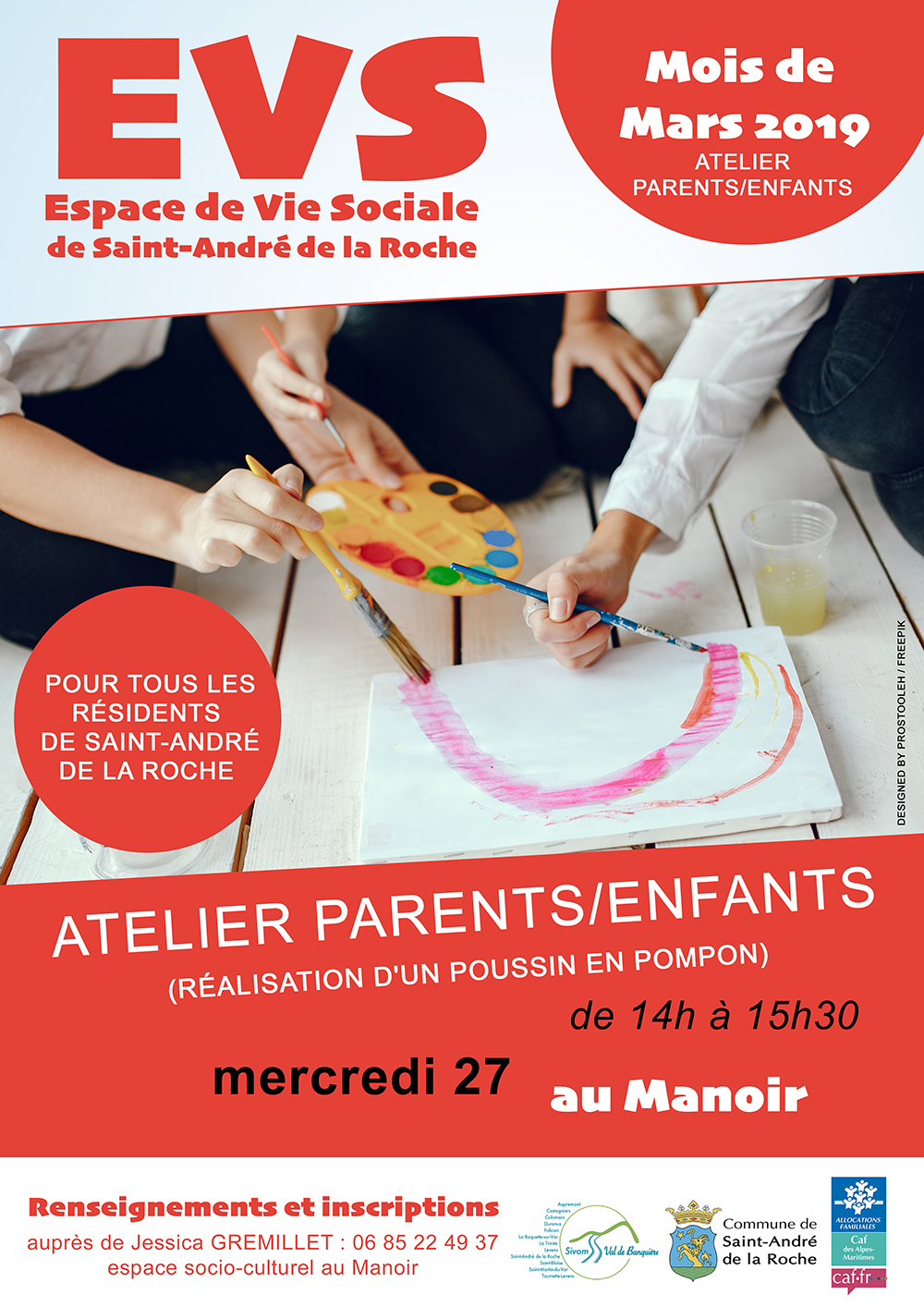 EVS : Atelier Parents-Enfants