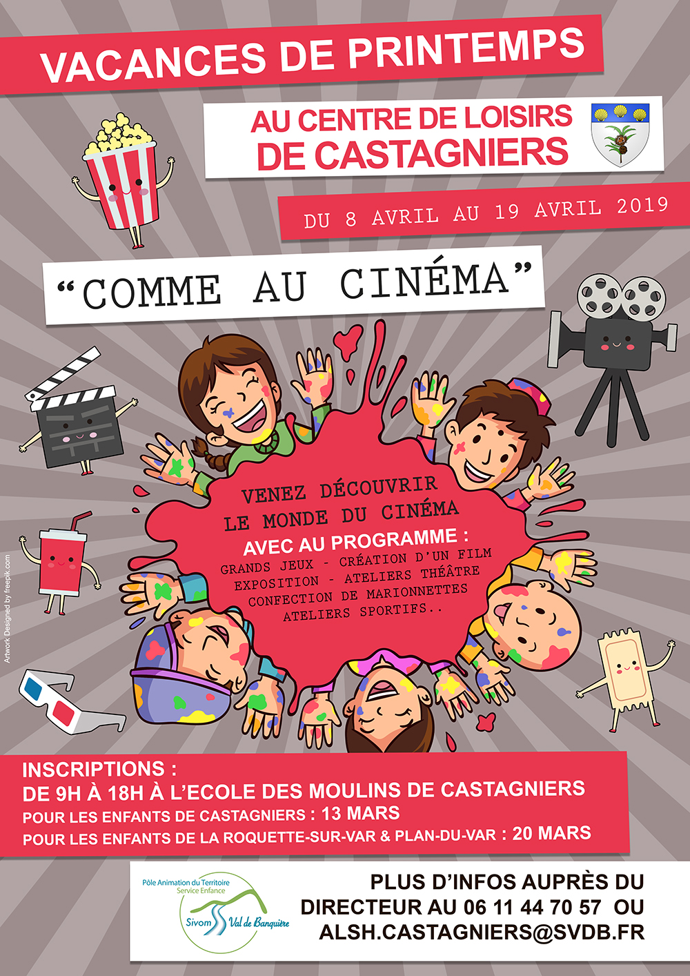 Inscriptions vacances de printemps : Castagniers