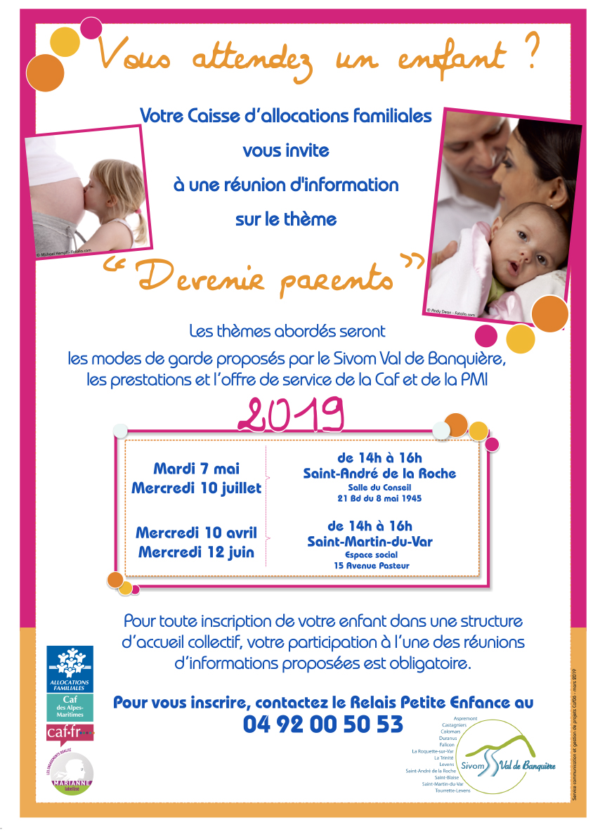 "Réunion d'information ""Devenir Parents"""