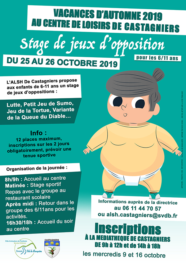 Inscriptions : Stage de jeux d'opposition