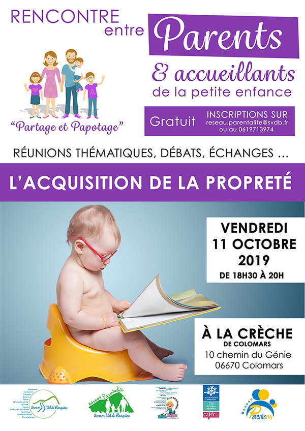 acquisition de la propreté
