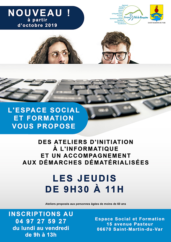 Ateliers d'initiation à l'informatique
