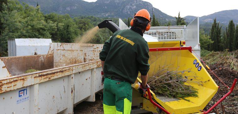 Le SIVoM se dote d'un broyeur de déchets verts