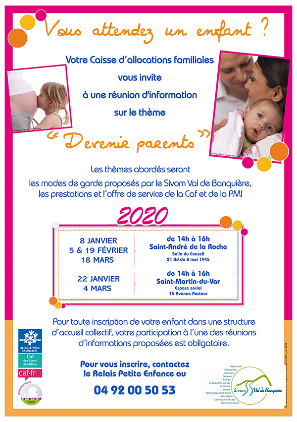 Réunion devenir parents
