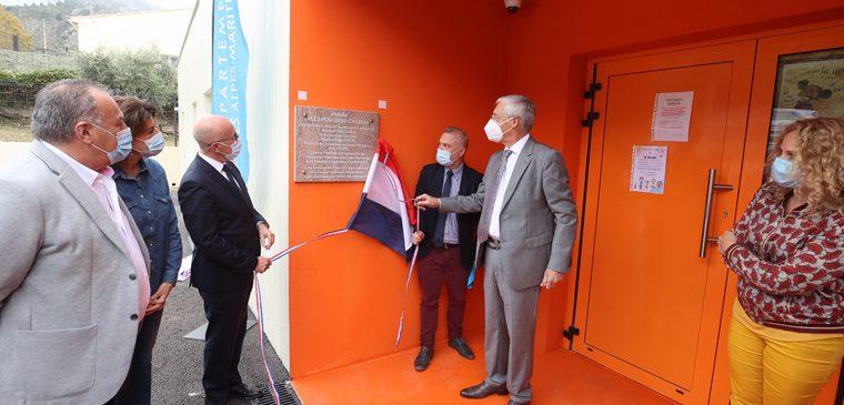 Aspremont : inauguration de la crèche des Poussins Câlins