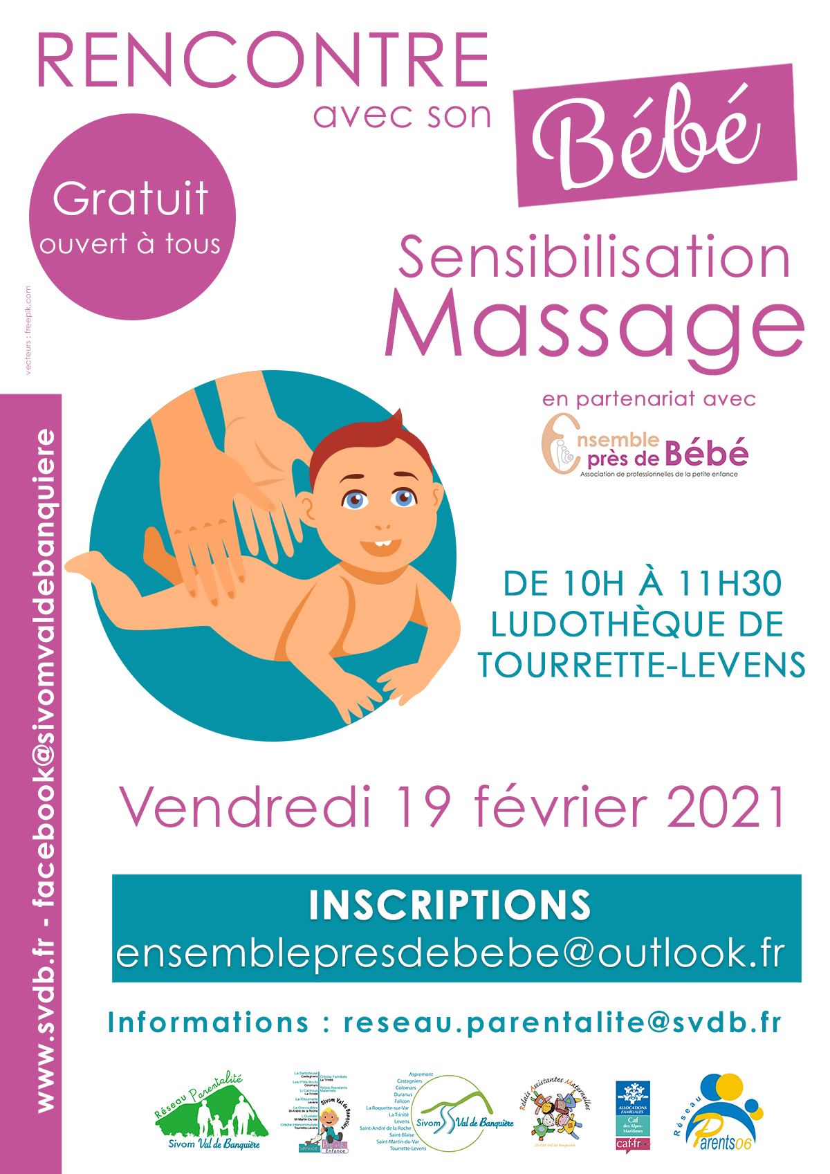 Sensibilisation massage