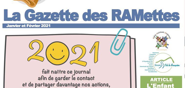 Le Relais Assistants Maternels lance sa gazette !